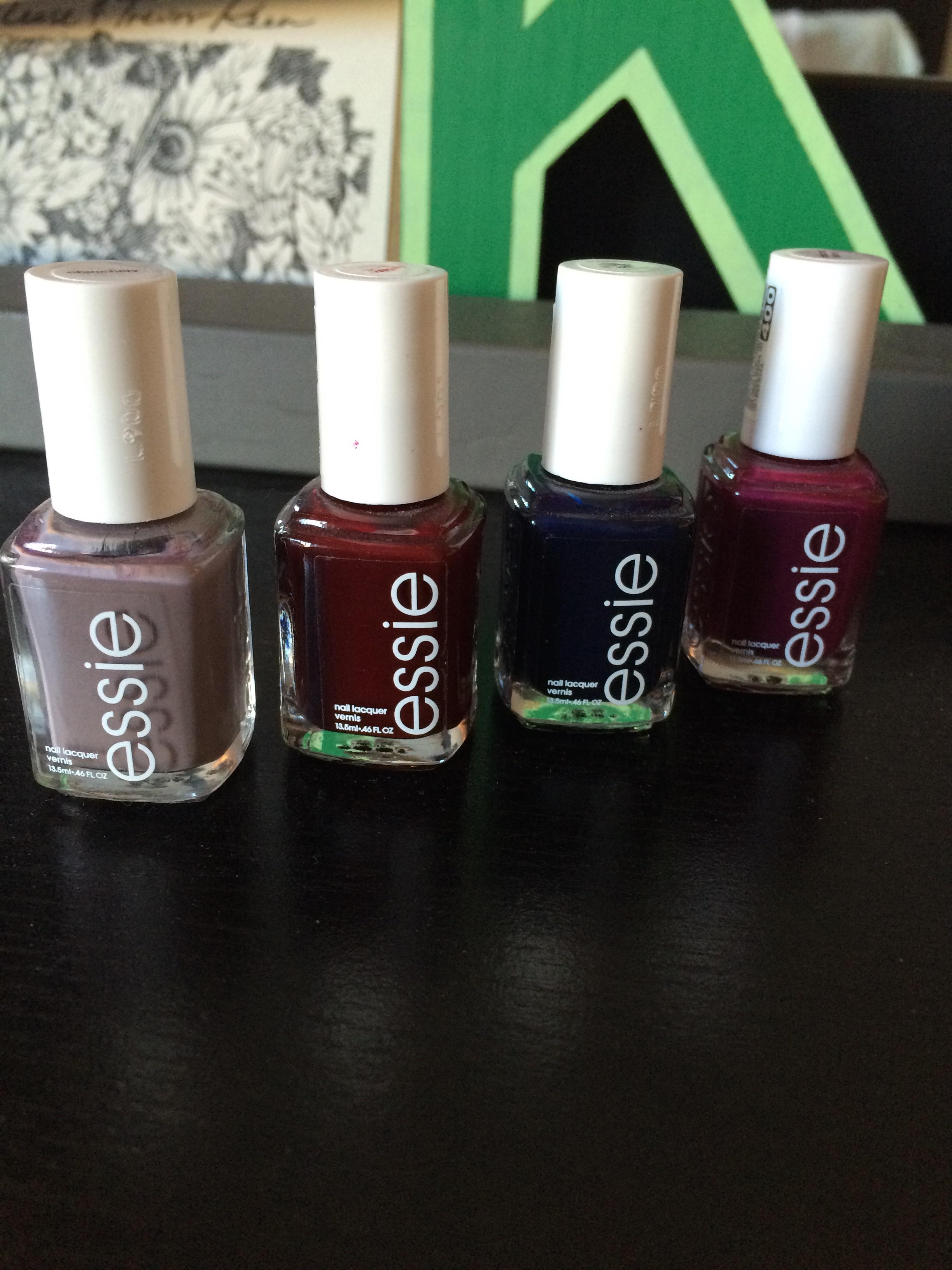 My Favorite Fall Nail Colors | KateFish